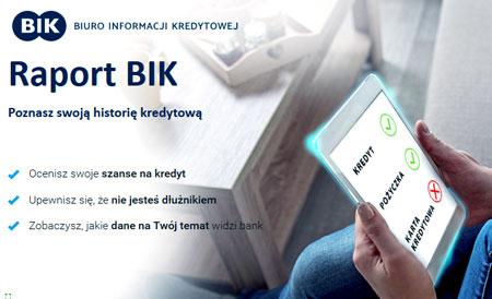 Historia kredytowa - raport BIK